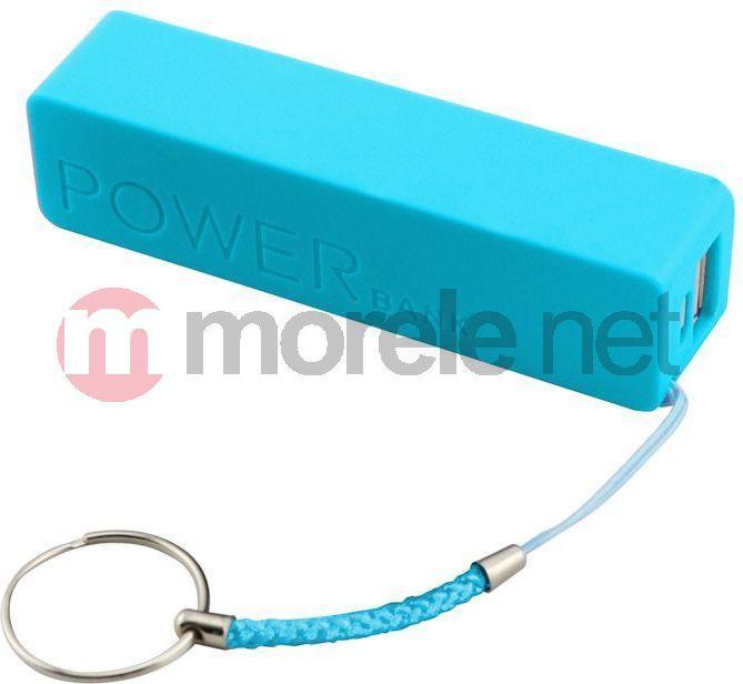 Powerbank Qoltec 2600mAh (7656.BLUE) 1