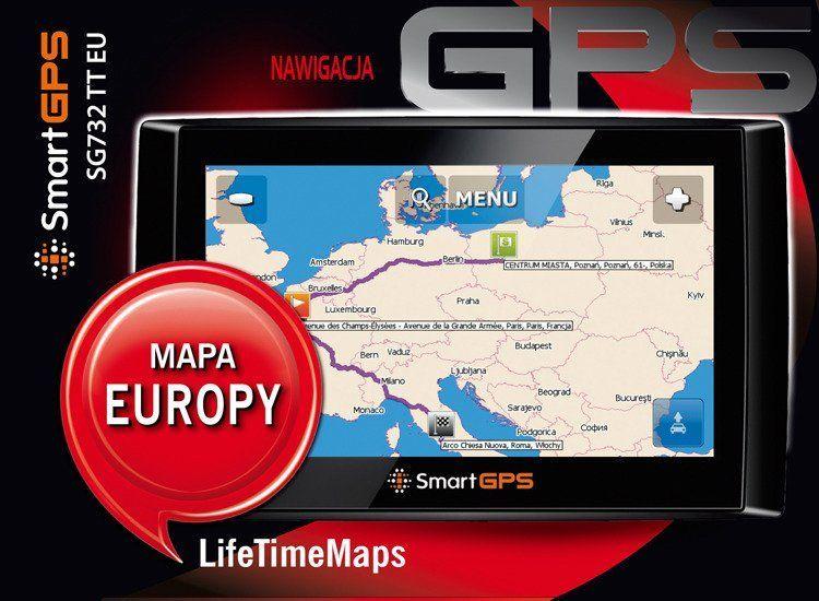 Nawigacja GPS SmartGPS Nawigacja samochodowa SmartGPS SG732 TT EU LTM | 1