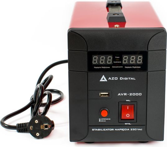 AZO Digital stabilizator napięcia AVR-2000 2000VA (AZO00D1116) 1