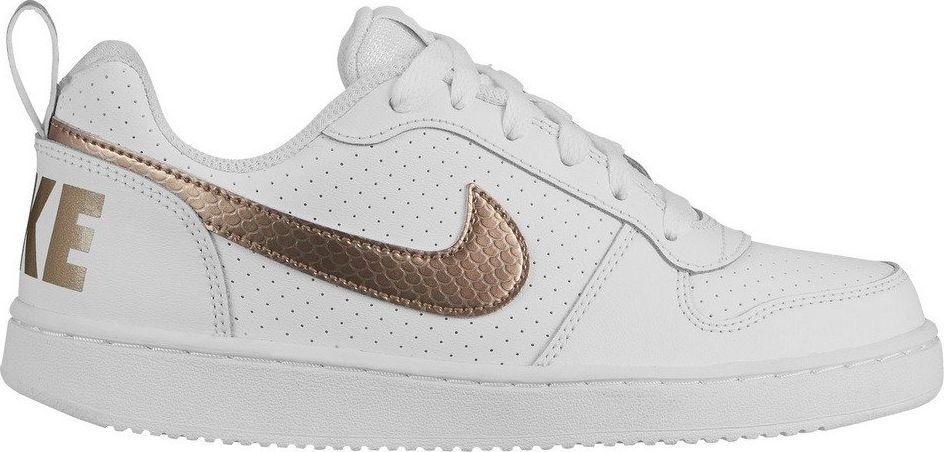 Nike Buty dziecięce Court Borough Low Ep Gs białe r. 38 (BV0745 100) ID produktu: 6004663