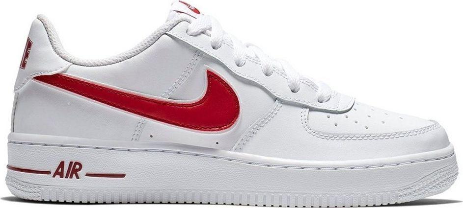 Buty Dziecięce Biały Nike Buty Dziecięce Air Force 1 PL GS