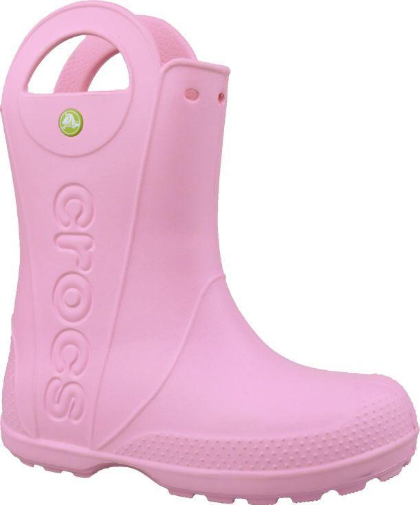 Crocs Kalosze dziecięce Handle It Rain Boot Carnation r. 33/34 1