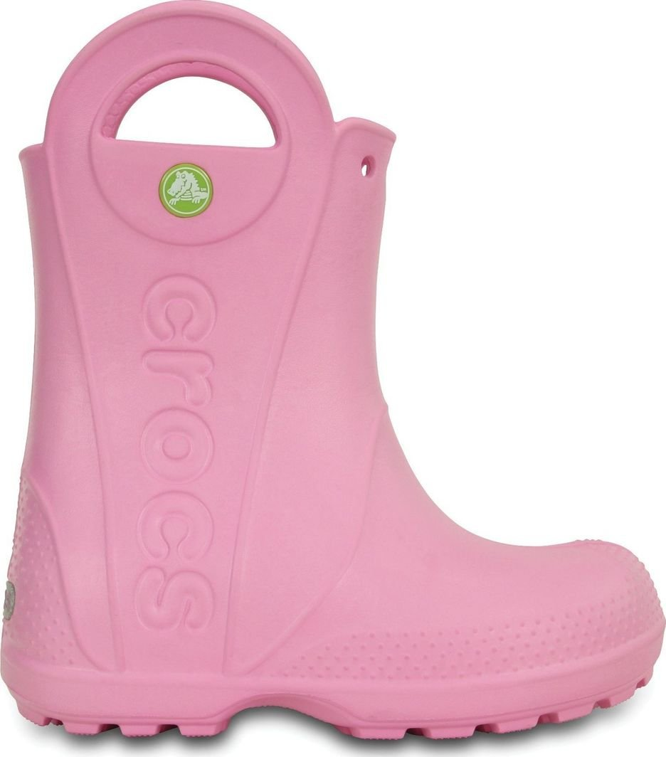 Crocs Kalosze dziecięce Handle It Rain Boot Carnation r. 24/25 1