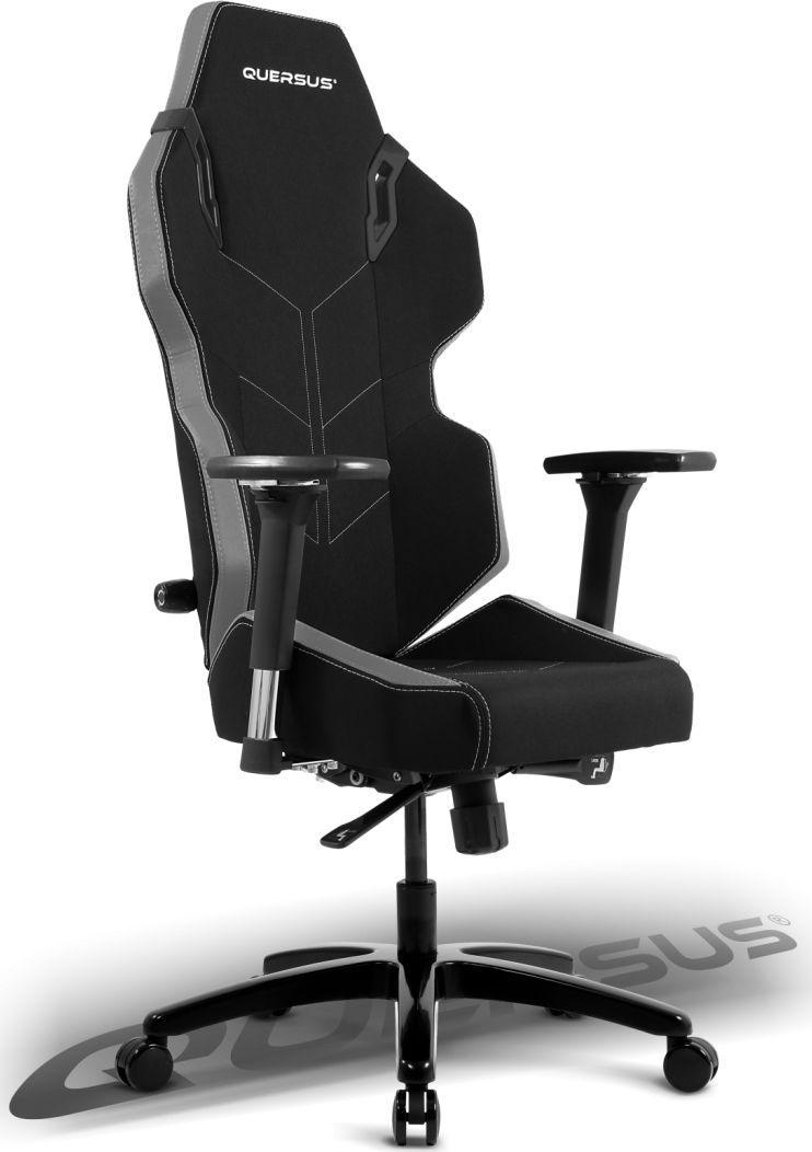 Fotel Quersus EVOS 301 Czarno-szary (E301/XA) 1