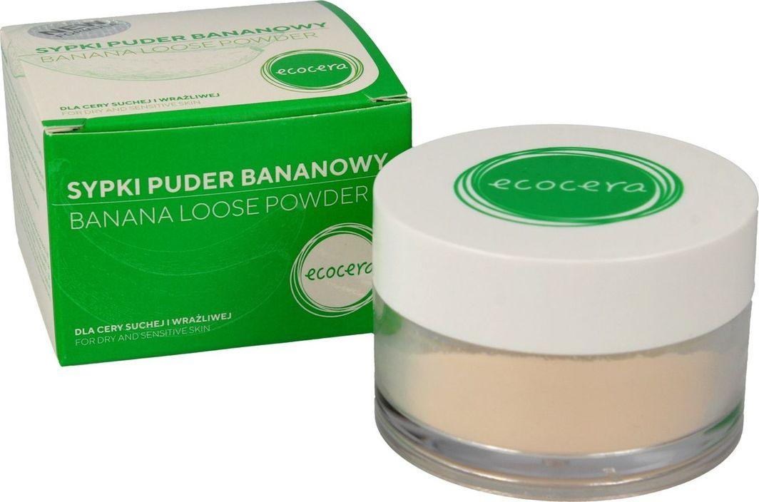 Ecocera  Sypki puder bananowy dla cery suchej i wrażliwej 8g 1
