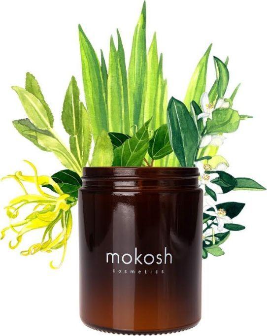"""Mokosh Roślinna świeca sojowa """"Śródziemnomorski Gaj"""" 140 g (słoik szklany) 1"""
