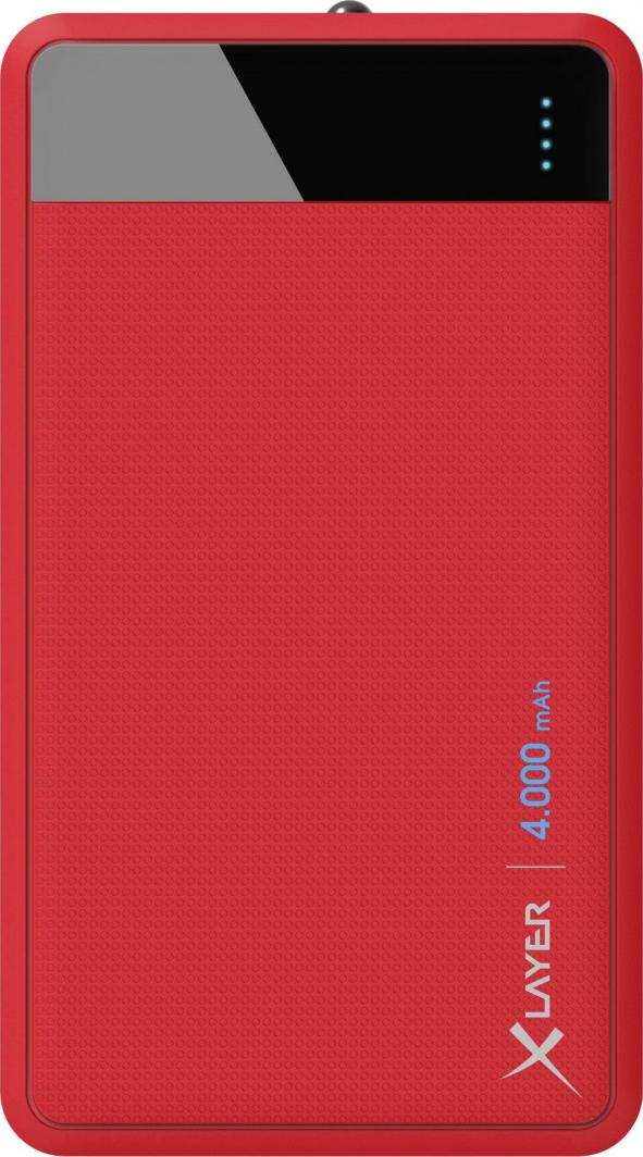 Powerbank Xlayer Colour Line Red 4000mAh 1