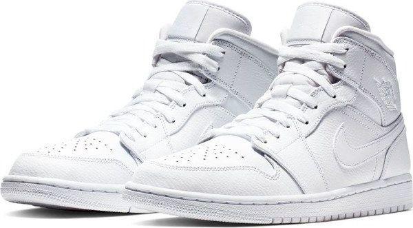 Jordan Buty męskie 1 Mid białe r. 44 (554724 129) ID produktu: 6010840