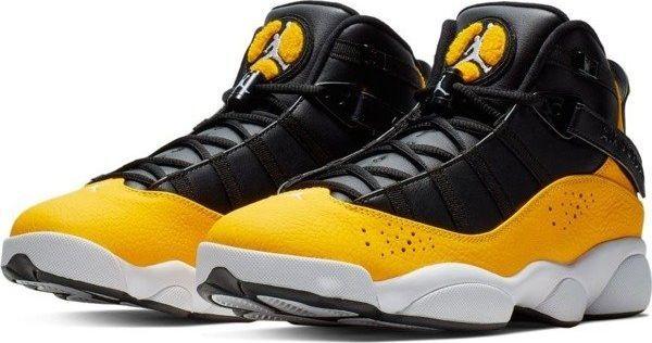 100% najwyższej jakości wysoka jakość oficjalna strona Jordan Buty męskie 6 Rings żółto-czarne r. 48.5 (322992-700) ID produktu:  6010848