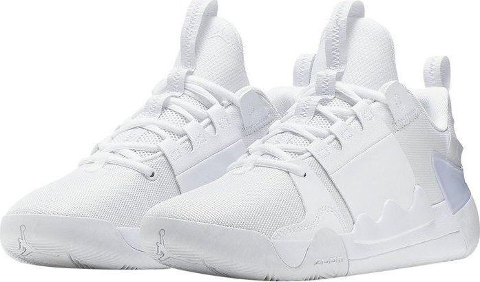 buty jordan rózowo białe męskie do grania