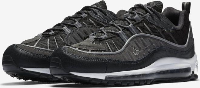 Nike Buty męskie Air Max 98 Se czarne r. 40.5 (AO9380 001) w