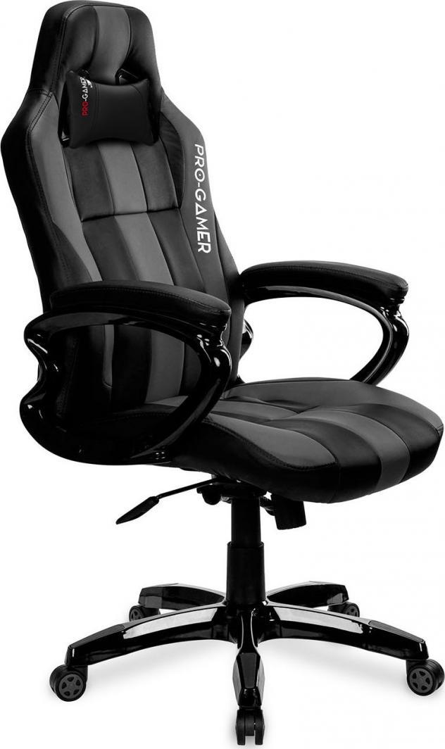 Fotel PRO-GAMER Daytona Czarno-szary 1