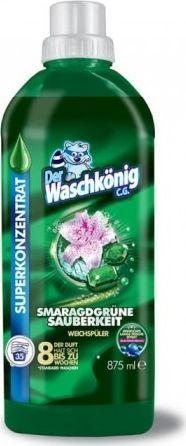 Płyn do płukania Der Waschkönig Superkoncentrat do płukania Der Waschkönig C.G. Smaragdgrüne 875 ml – 35 WL uniwersalny 1