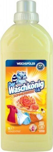 Płyn do płukania Der Waschkönig Płyn do płukania tkanin Der Waschkönig C.G. Sommerbrise 1 l - 28 WL uniwersalny 1