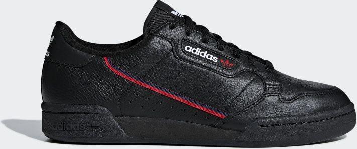 Adidas Buty męskie Continental 80 czarne r. 44 23 (G27707) w Sklep presto.pl