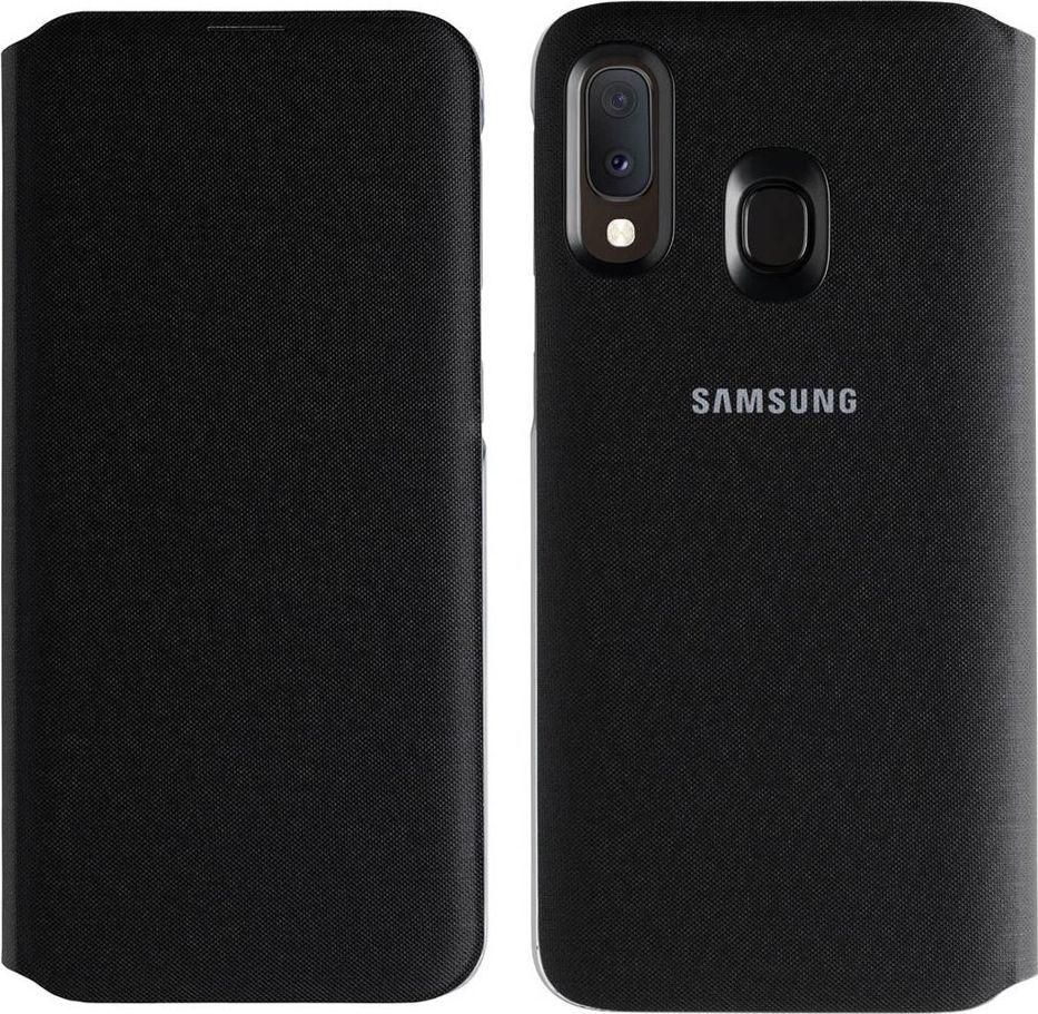 Samsung Etui Wallet Cover do Samsung Galaxy A20e czarne (EF-WA202PBEGWW) 1