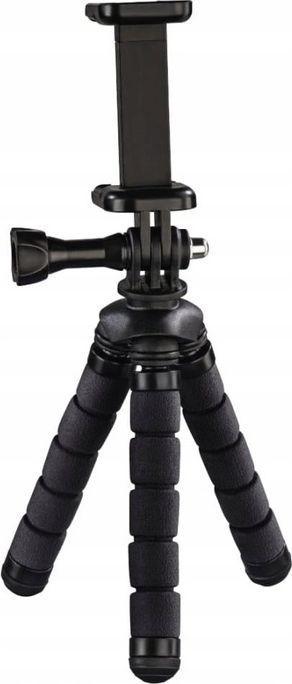 Selfie stick Hama Mini statyw Flex 2w1 Czarny 1