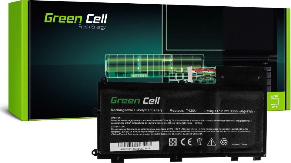 Bateria Green Cell Bateria do Lenovo ThinkPad T430u 11.1V 4250mAh (LE106) 1