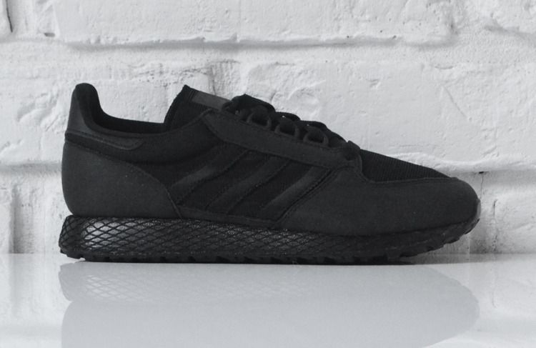 Adidas Buty męskie Forest Grove J czarne r. 37 13 (G27822) ID produktu: 6028116
