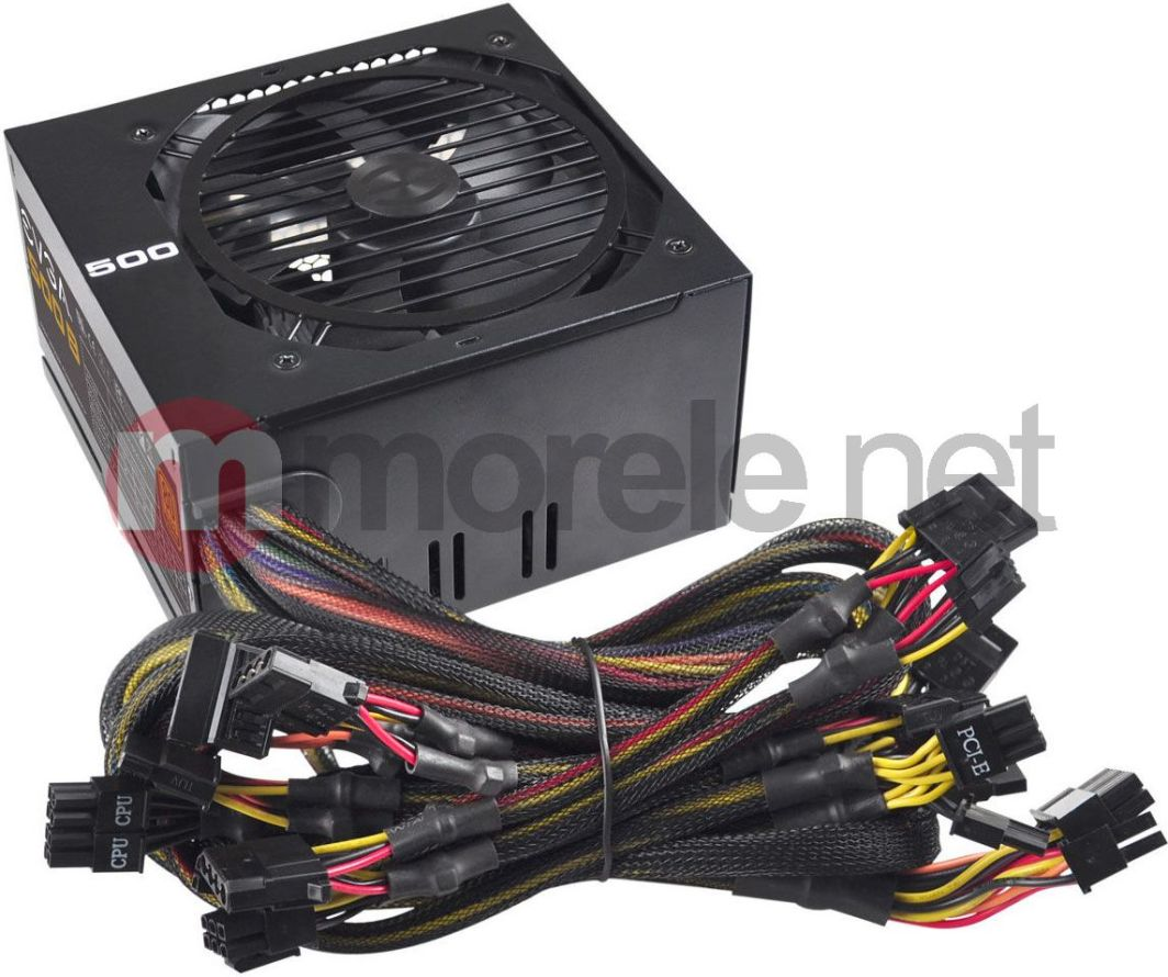 Zasilacz EVGA 401 up to 550 Watt : EVGA : 500B BRONZE 500 WATT 80PLUS ( 100-B1-0500-KR ) 1