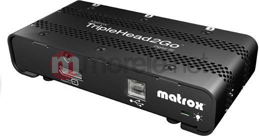 Matrox TripleHead2Go Digital SE T2G-DP3D-IF 1
