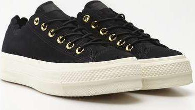 Converse Buty damskie ChuckTaylor All Star Lift Scallop 499 black gold egret r. 41 (C563499) ID produktu: 6039713
