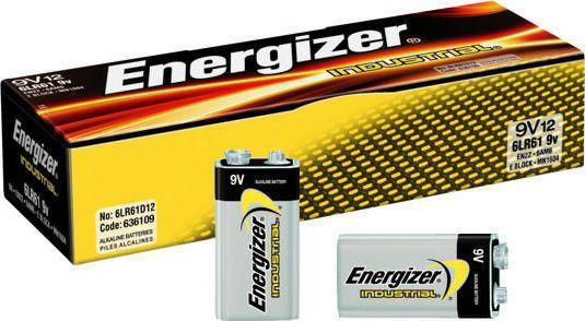 Energizer Bateria Industrial 9V Block 1szt. 1