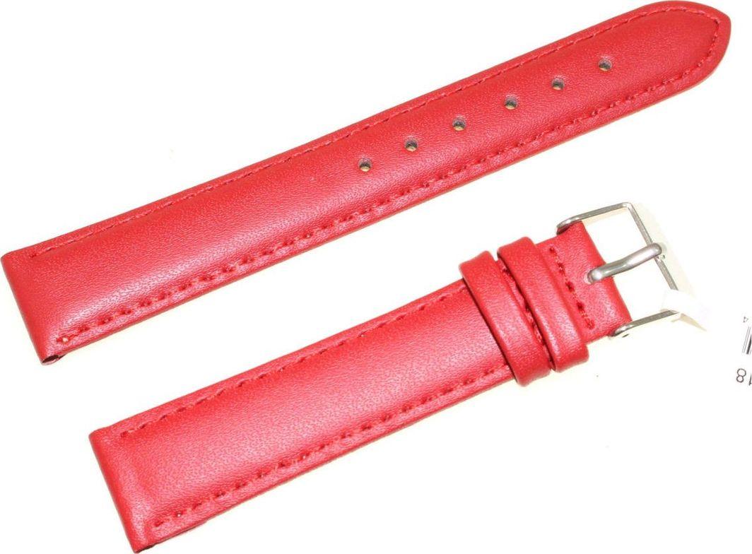 JVD Skórzany pasek do zegarka 18 mm JVD R17407-18 uniwersalny 1