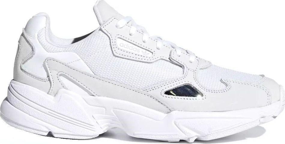 różne kolory kody promocyjne super promocje Adidas Buty damskie Falcon białe r. 38 2/3 (B28128) ID produktu: 6047341