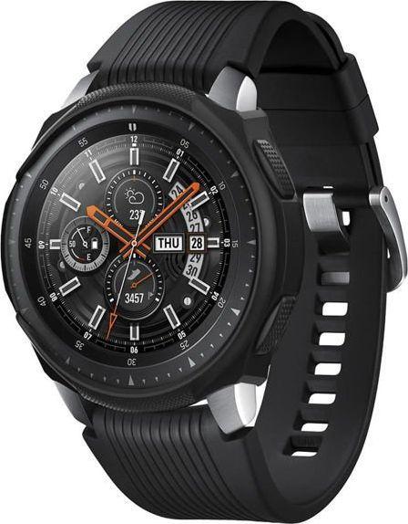 Spigen Etui Spigen Liquid Air do Samsung Galaxy Watch 46mm /Gear S3 Black uniwersalny 1