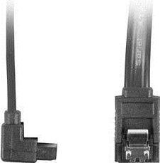 Lanberg CA-SASA-13CU-0070-BK (SATA III M - SATA III M; 0,7m; kolor czarny) 1