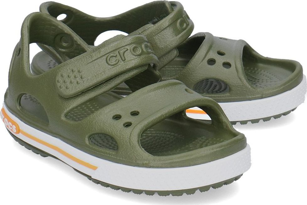 Crocs Crocs Crocband II Sandały Dziecięce 14854 ARMY GREEN 2829 ID produktu: 6049350