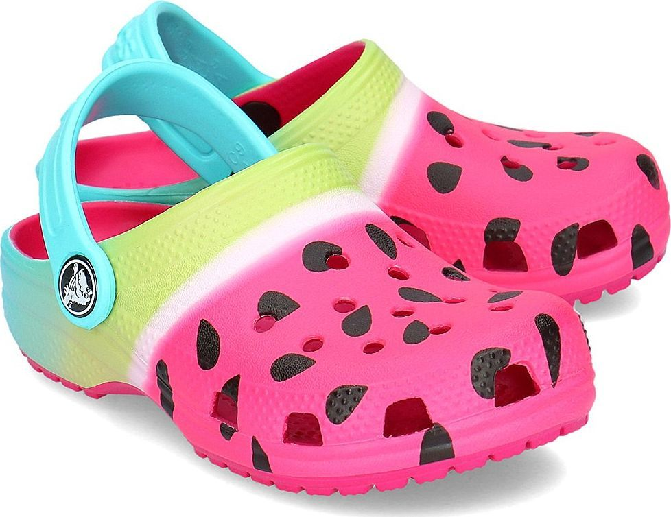 Crocs Crocs Classic Ombre Graphic Clog Klapki Dziecięce 205653 CANDY PINK 3233 ID produktu: 6049527