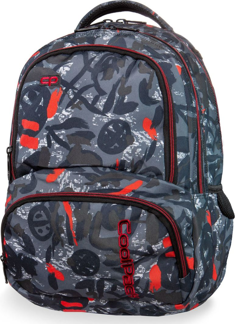 Coolpack Plecak szkolny Spiner Red Indian 1