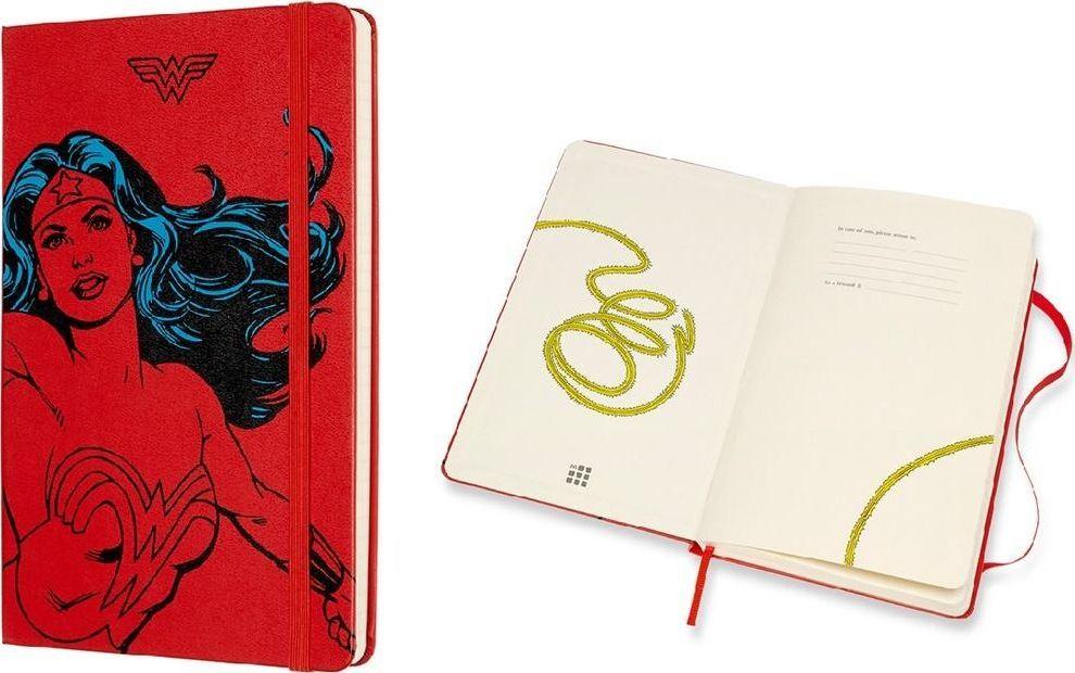 Moleskine Notes linie L Wonder Women czerwony 1
