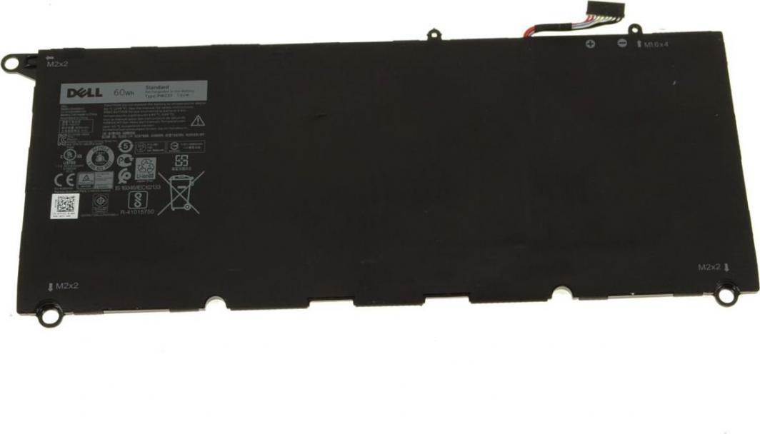 Bateria Dell Bateria do Dell XPS 13 9360 7.6V 60Wh (RNP72) 1