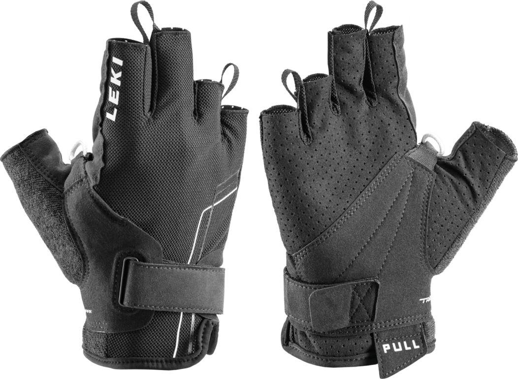 Unisex Leki Nordic Lite Shark Nordic Walking Gloves Short Gloves