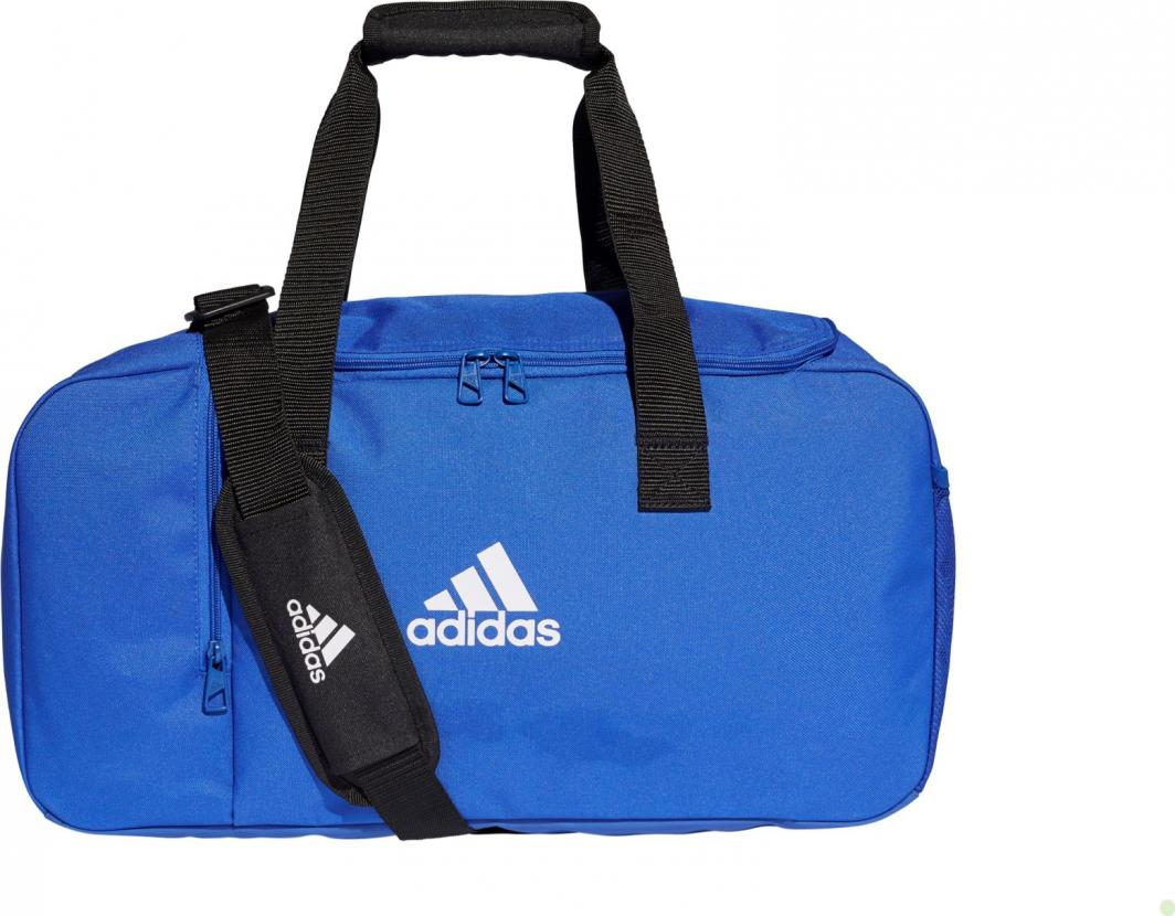 Torba piłkarska Adidas Tiro Duffel Bag M niebieska