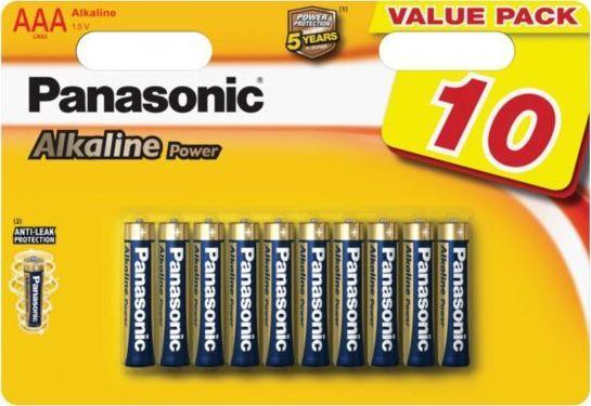 Panasonic Bateria Power AAA / R03 10szt. 1