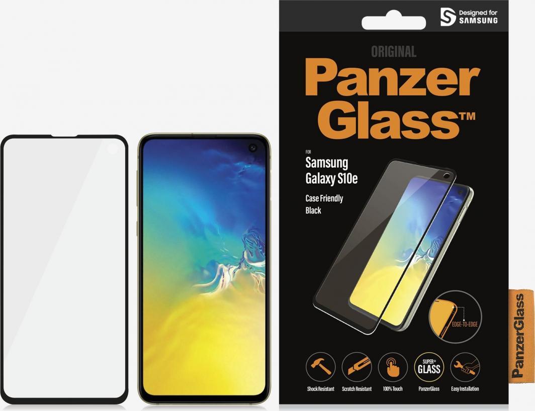 PanzerGlass Szkło hartowane do Samsung Galaxy S10e Case Friendly Black (7177) 1