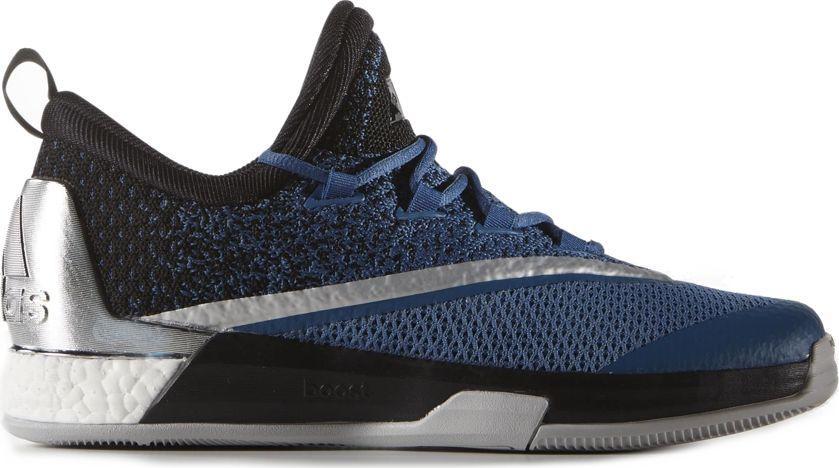 Adidas Buty męskie Crazylight Boost 2.5 Low czarno niebieskie r. 50 (AQ8469) ID produktu: 6062169
