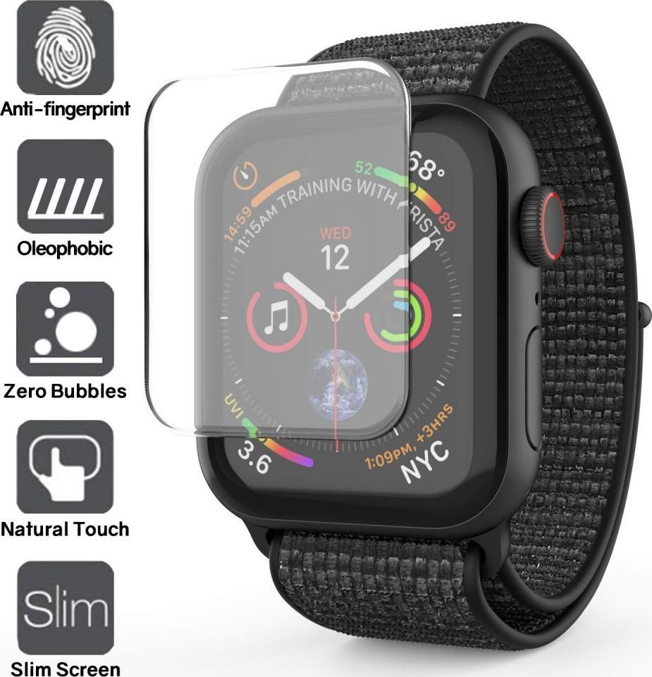 Whitestone SZKŁO HARTOWANE WHITESTONE DOME GLASS APPLE WATCH 4 (44MM) CLEAR 1