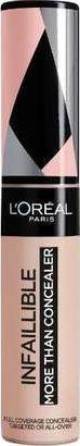 L'Oreal Paris Korektor do twarzy i pod oczy Infaillible More Than Concealer 322 Ivory 11ml 1