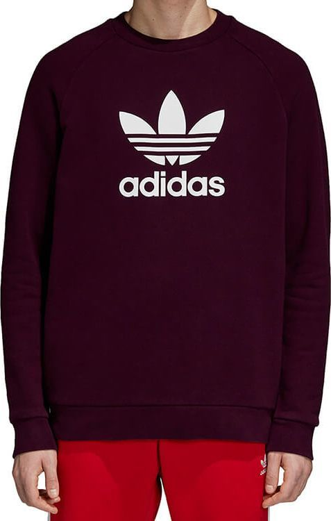 BLUZA ADIDAS ORIGINALS TREFOIL BORDOWA r. XL