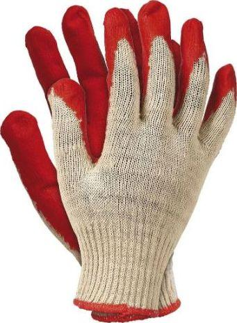 Unimet rękawice wampirki powlekane gumą czerwone (REK RUC 450) 1