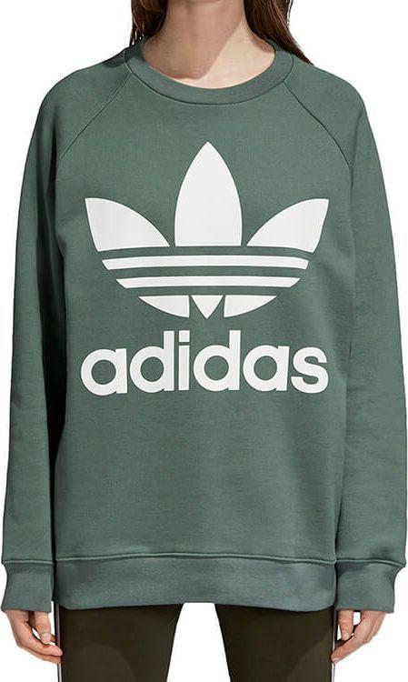 Adidas Bluza damska Oversized Sweatshirt zielona r. M (DH3128) ID produktu: 6069360