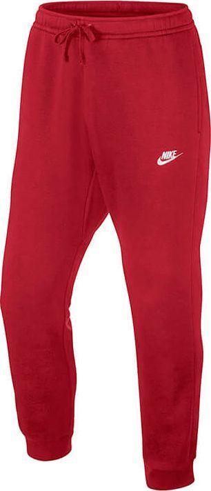 meskie czerwone spodnie nike