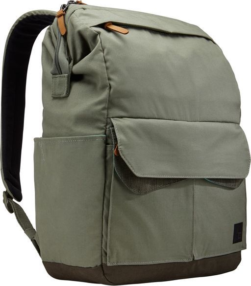 "Plecak Case Logic Plecak na laptop do 14"" CASE LOGIC LoDo LODP114PTG Zielony uniwersalny 1"