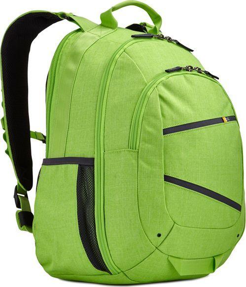 "Plecak Case Logic Plecak na laptop do 15,6"" CASE LOGIC Berkeley II Limonkowy uniwersalny 1"