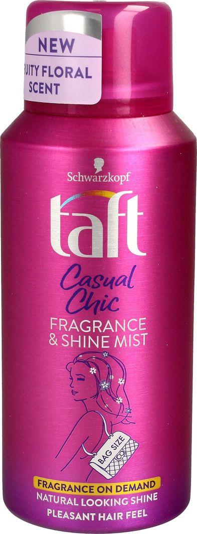 Taft TAFT_Casual Chic Fragrance & Shine Mist nabłyszczająca mgiełka do włosów 100ml 1